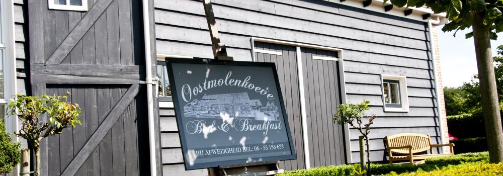 Oostmolenhoeve B&B Goes 2 studio's